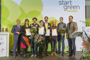 "ecobasa receives Start-Green Award for their ""New perspectives"""